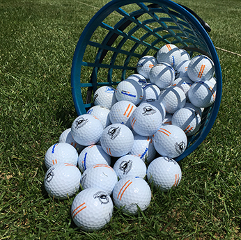 Golfbälle Driving Range